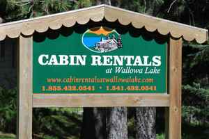 Cabin rentals at Wallowa Lake
